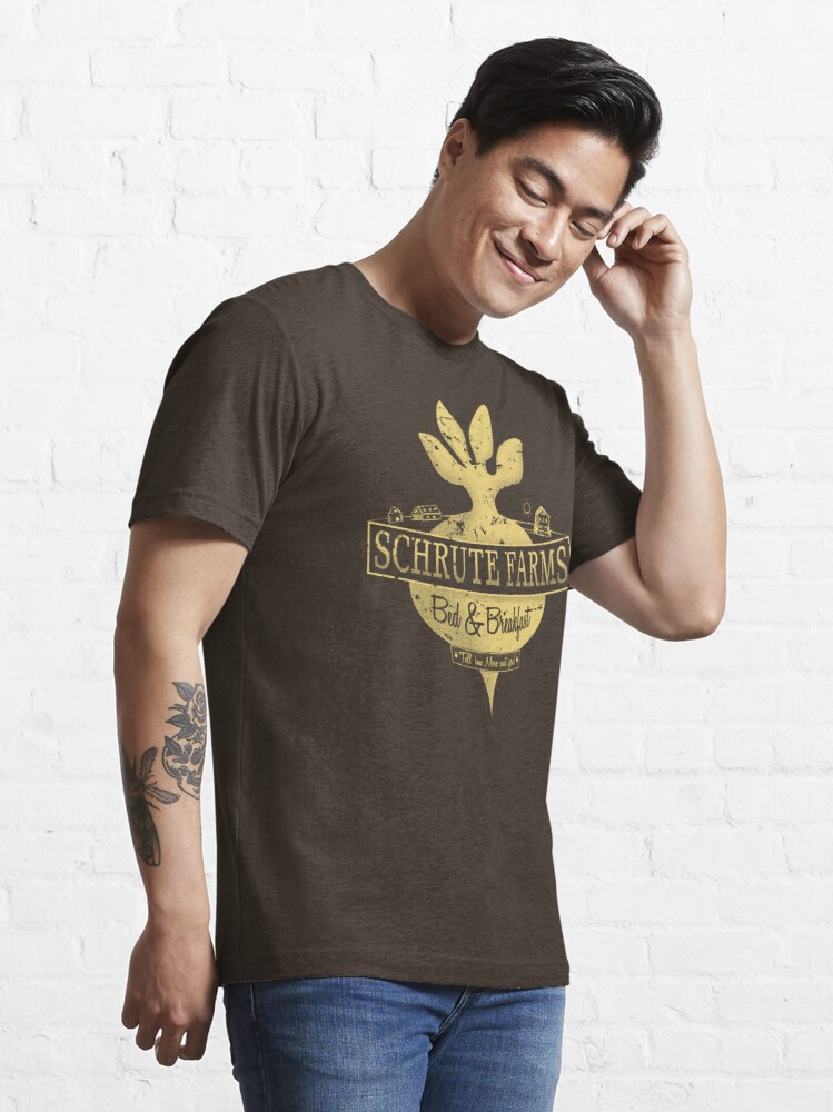 Alternate view of Schrute Farms (Special Mose edition!) Essential T-Shirt