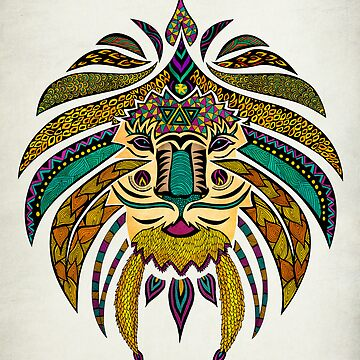 Emperor Tribal Lion by pamegallegos