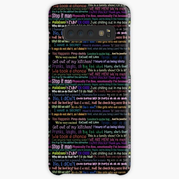 One direction Quotes Samsung Galaxy Snap Case