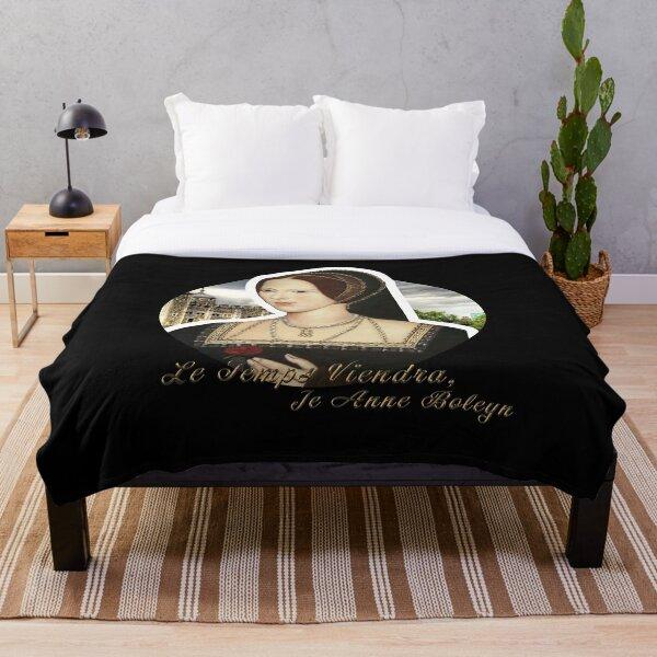 Anne Boleyn Quote Throw Blanket