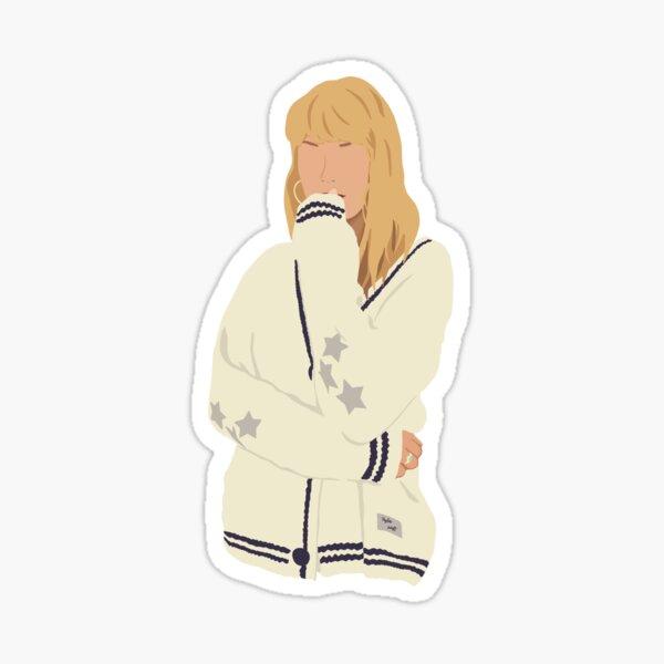 Taylor Swift Cardigan Sticker