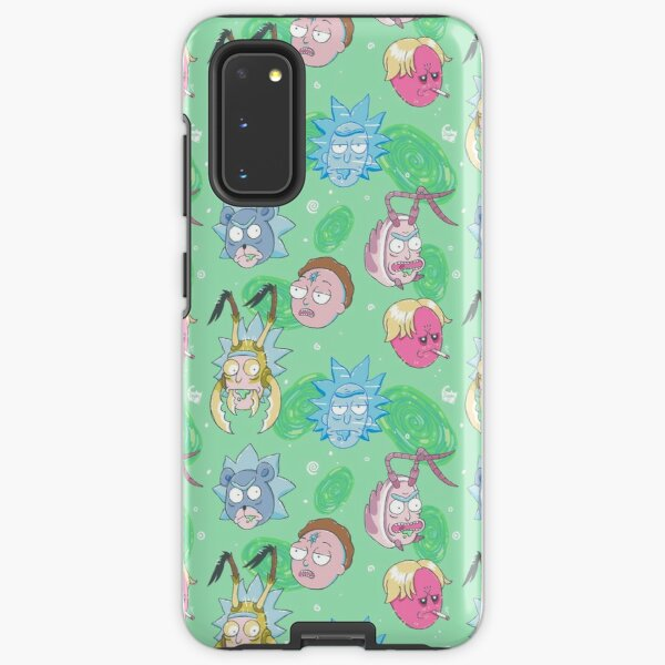Rick Die Rickpeat and Death Crystal Morty Samsung Galaxy Tough Case