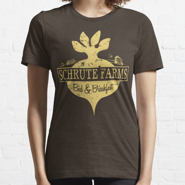 Schrute Farms B&B (no circles) Essential T-Shirt