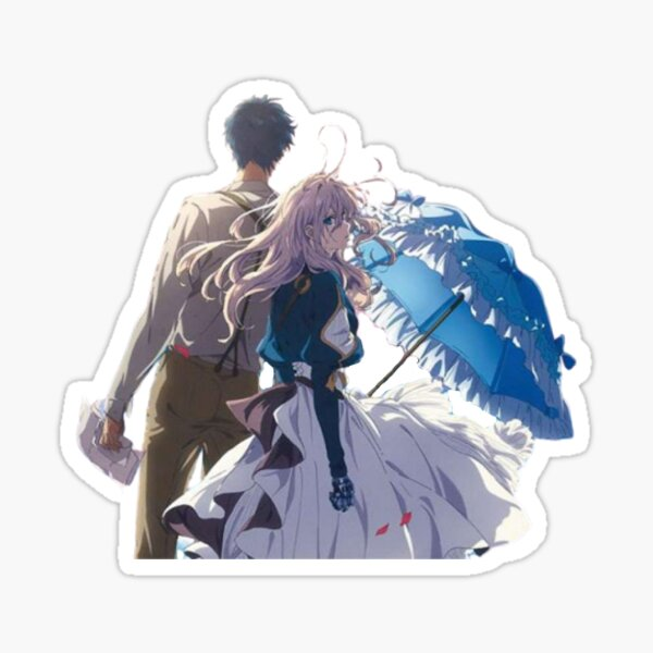 Violet and Gilbert [Violet Evergarden] Sticker