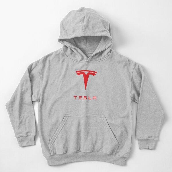 Logo de Tesla Sudadera con capucha para niños