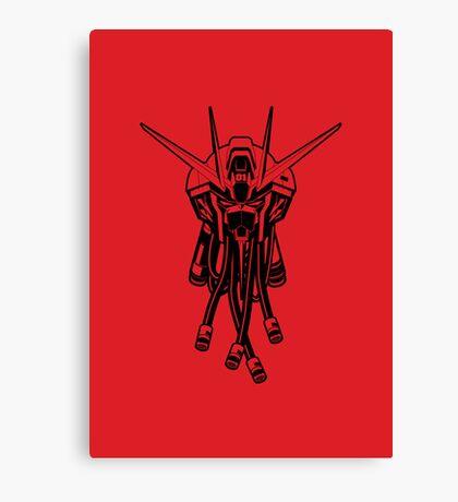 Gundam Black Canvas Print