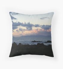 Sunrise over Rooi Els Throw Pillow