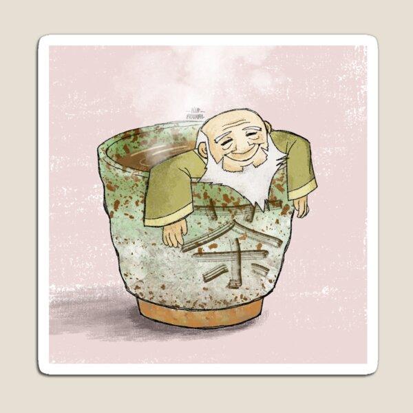 Uncle Iroh in Tea Magnet