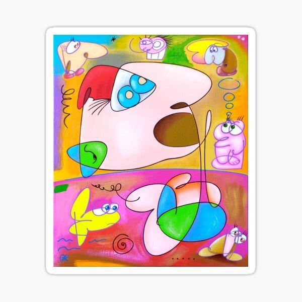 Art Crétin Sticker
