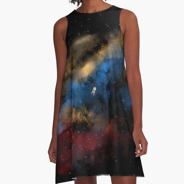 Star Trek - Boldy Going digital painting - StarTrek A-Line Dress