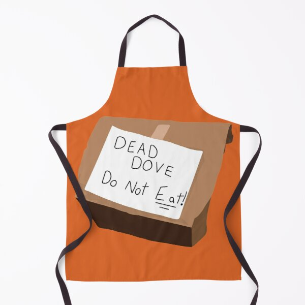 do not eat! (AD pack)  Apron