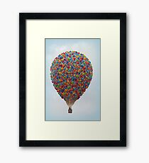 Balloons Galore! Framed Print