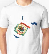 West Virginia | Flag State | SteezeFactory.com T-Shirt