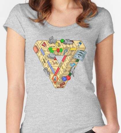The Impossible Board Game Women's Fitted Scoop T-Shirt