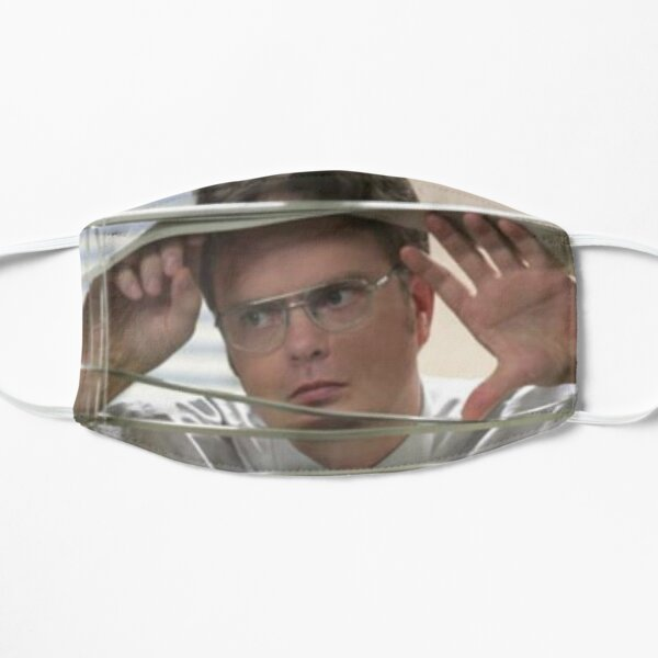 Dwight Schrute Watching Through the window Mask
