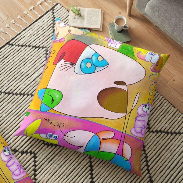 Dumb Art Floor Pillow