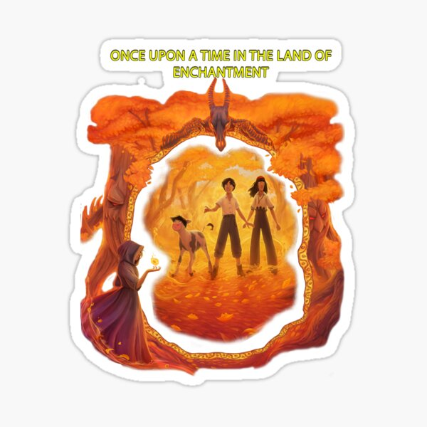 Once upon a time in the land of enchantment Sticker