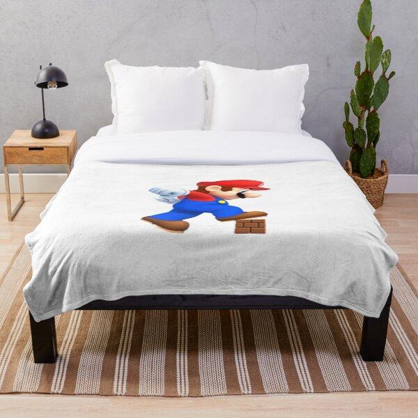 Super Mário Throw Blanket