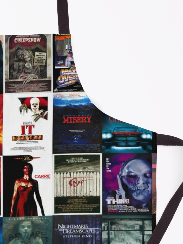 Alternate view of Stephen King movie posters collection Apron