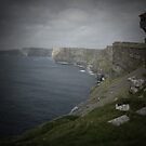 Cliffs of Moher through pinhole camera by Karin Funke