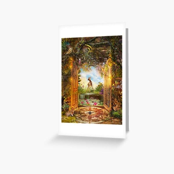 Unlocking Summer Greeting Card