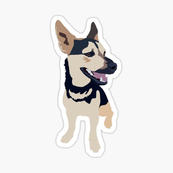 Min Pin Mix Pup Sticker