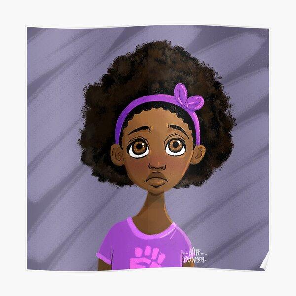 Black Girls Matter Poster