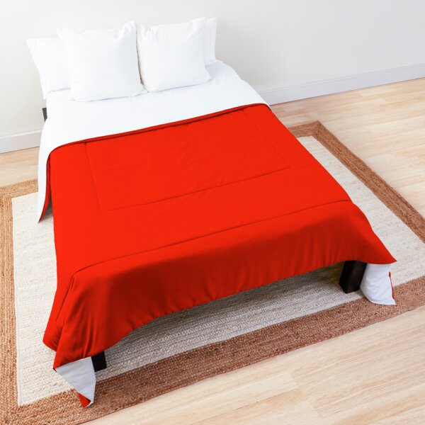 Neon Orange Comforter