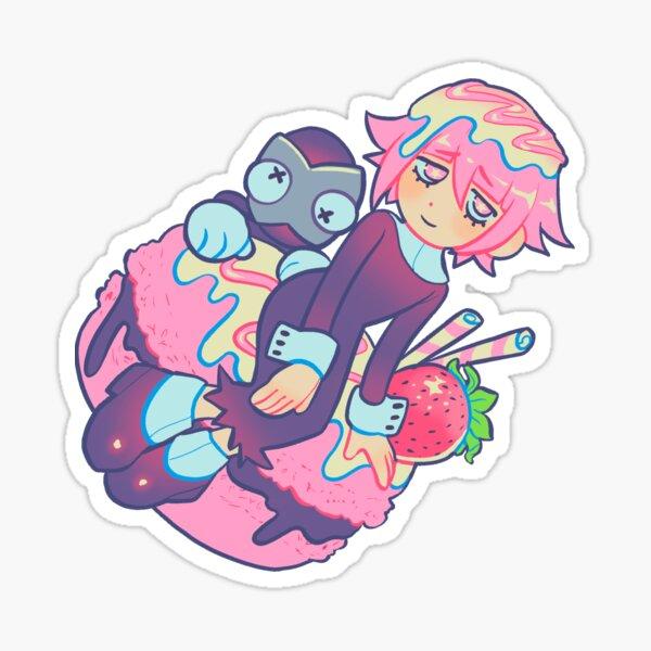 Crona and Ragnarok macaron  Sticker