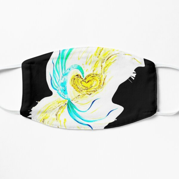 Gold Heart Mask