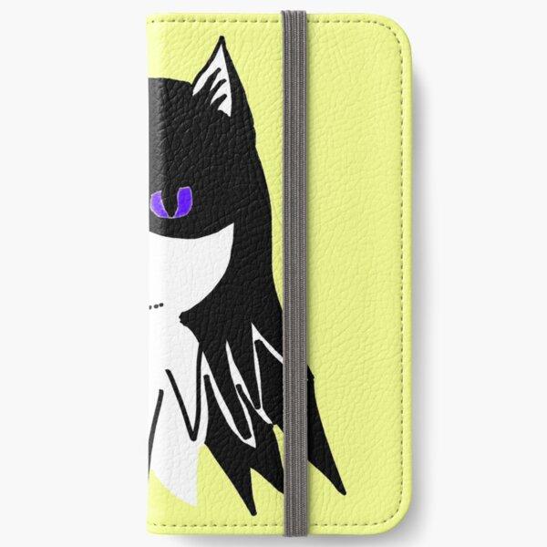 Bat Mills - purple eyes iPhone Wallet