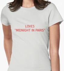 "Loves ""Midnight In Paris"" T-Shirt- CoolGirlTeez T-Shirt"