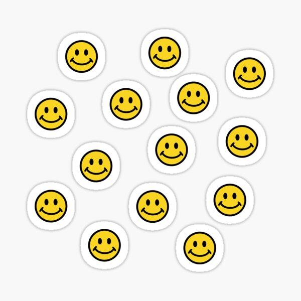 yellow smileys Sticker