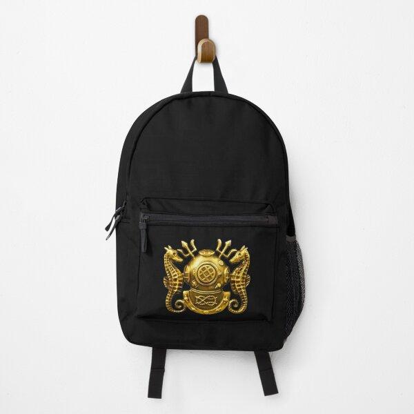 Deep Sea Diving Badge Backpack