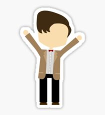 Happy Eleventh Doctor Sticker