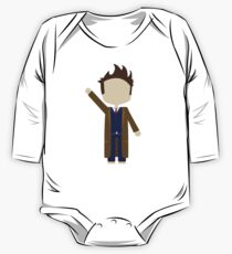 Tenth Doctor One Piece - Long Sleeve
