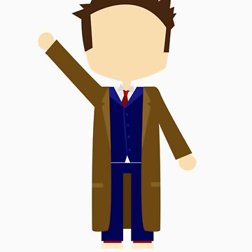 Tenth Doctor by dbowkercreative