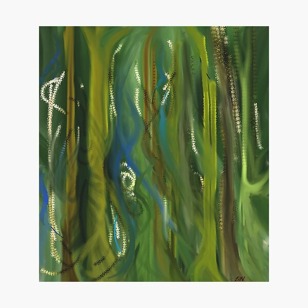 Green Scape Photographic Print