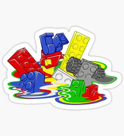 Toy Melt Sticker
