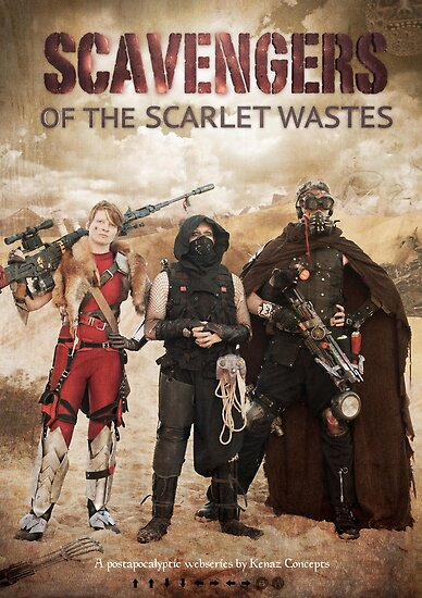 Scavengers of The Scarlet Wastes Season 1 Poster by Kenazz