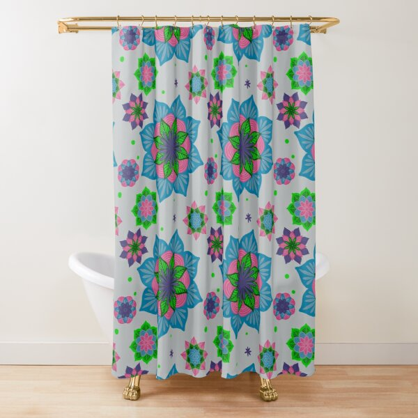 Top of My List Manda Shower Curtain