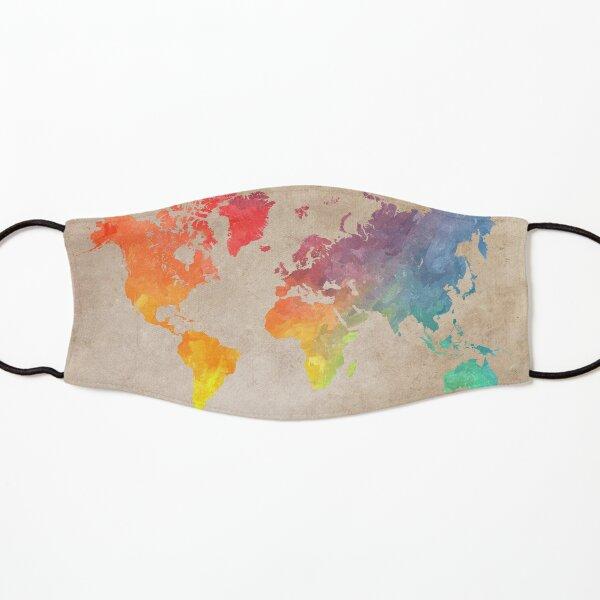 World Map maps Kids Mask
