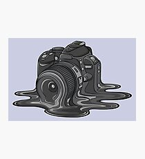 Camera Melt Photographic Print