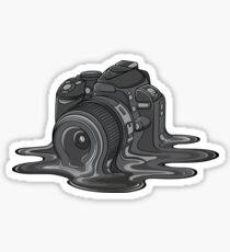 Kamera schmelzen Sticker