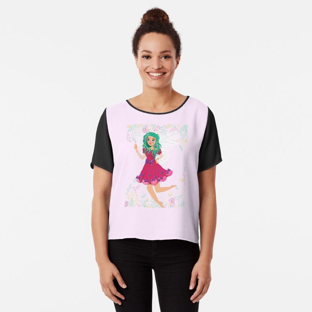 Ruby The Ribbon Fairy At Play™ Chiffon Top