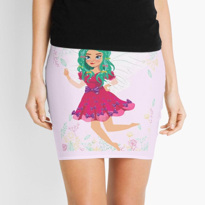 Ruby The Ribbon Fairy At Play™ Mini Skirt