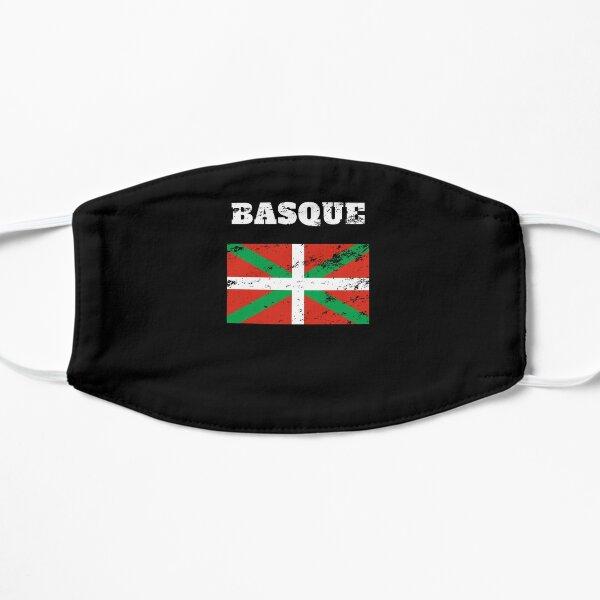drapeau basque vasco euskera roots Retro Vintage Masque sans plis