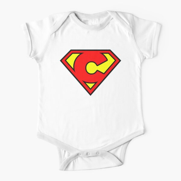 Super C Short Sleeve Baby One-Piece