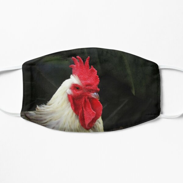 Ruling rooster Flat Mask