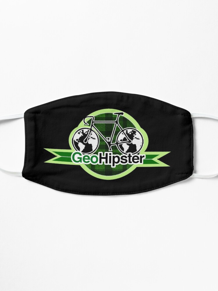 Alternate view of GeoHipster Bike Logo Mask